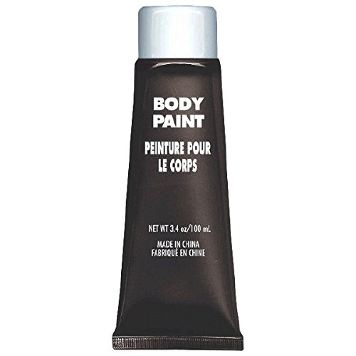 Party Stuff Online Costumes (Party Perfect Team Spirit Body Paint Accessory, Black, Non-Toxic, 3.4 Ounces)