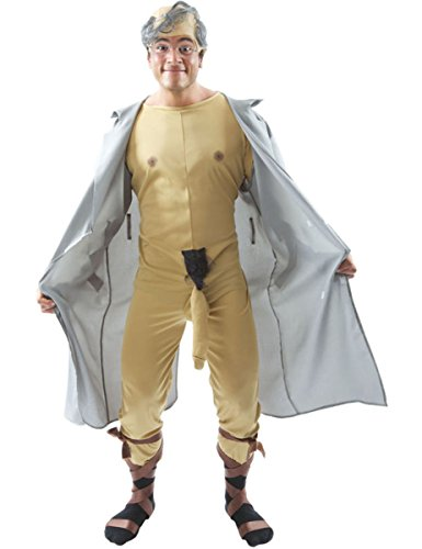 (Old Man Flasher Costume -)
