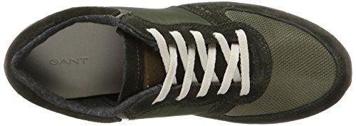 Gant Women's Linda Trainers, Green Multicolour (Dark Olive G710)