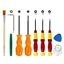 Nintendo Triwing Screwdriver, Keten Professional Nintendo Screwdriver Set with Full Triwing Screwdriver Repair Tool Kit for Nintendo New 3DS and Nintendo Wii /NES/SNES /DS Lite /GBA/Gamecube and More