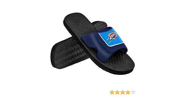 80851538f691 Amazon.com   Oklahoma Thunder 2014 Mens Shower Slide Flip Flop   Sports    Outdoors