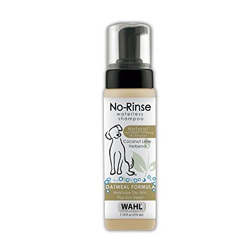 Wahl Natural Pet No-Rinse Waterless Shampoo, 7.10 fl oz, Coconut Lime Verbana