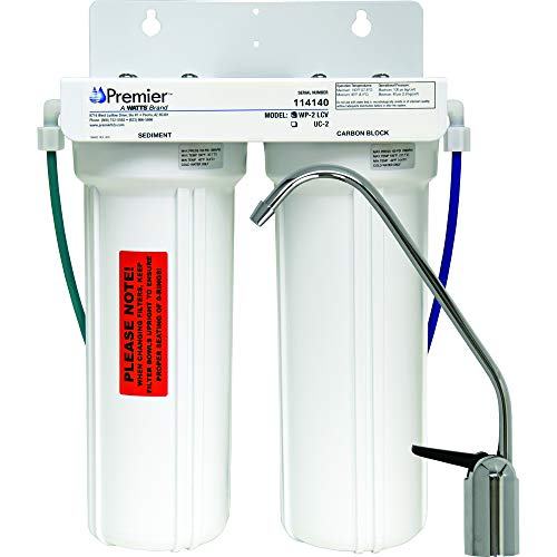 Watts WP500313 2-Stage Undercounter Lead, Cyst & VOC Reducing Drinking Water System