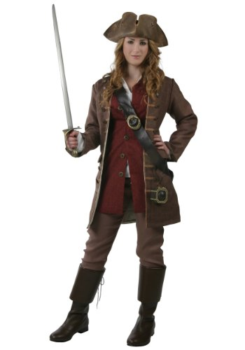 [Fun Costumes Plus Size Authentic Caribbean Pirate 2x] (Authentic Pirate Coats)