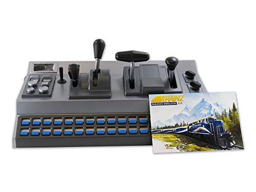 RailDriver USB Desktop Train Cab Controller with Trainz Railroad Simulator 2019