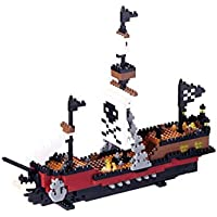 Nanoblock Pirate Ship Building Set