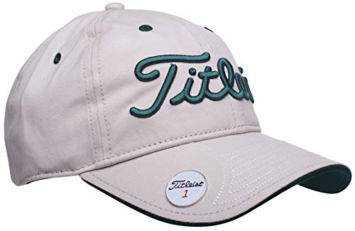 Titleist Fashion Golf Ball Marker Hat (Adjustable) Khaki/Green