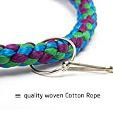 MEWTOGO 2 Pack Woven Cotton Rope Parrot