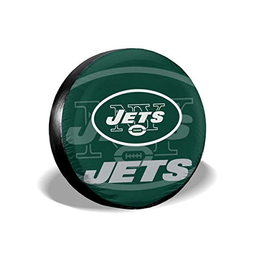 Aoskin New York Jets Die Universal Fit Tire Cover