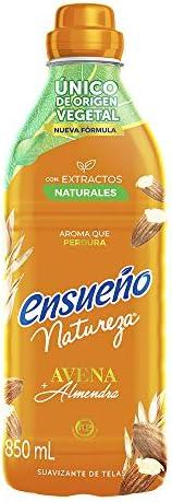 Ensueño Suavizante De Telas Ensueño Avena Y Almendra 850ml, color, 850 ml, pack of/paquete de