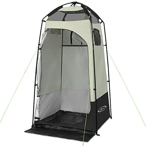 G4Free Outdoor Privacy Shelter Tent Dressing Changing Room Deluxe Shower Toilet Camping Tents