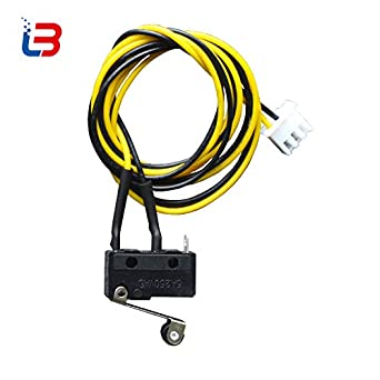 tronxy 3d printer part limit switch kw11 3z roller lever endstop fortronxy 3d printer part limit switch kw11 3z roller lever endstop for 3d printer with wiring com and no ac 5a 250v 20106mm size amazon com industrial \u0026