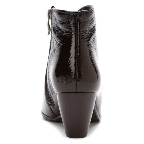 Ara Kvinna Tricia Boot Svart Lackläder 1