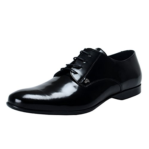 Versace-Collection-Mens-Black-Polished-Leather-Oxfords-Shoes-Shoes-822