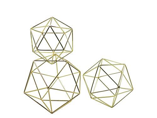 Koyal Wholesale Geometric Decor Shapes, Set of 3