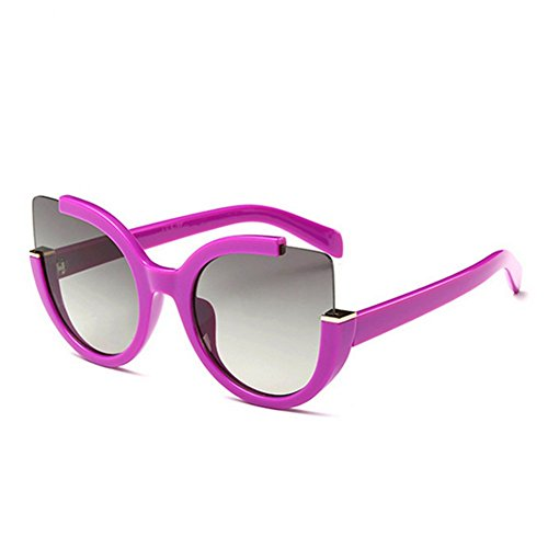 HaiBote The New Fashion Sunglasses Ms sunglasses Yurt Glasses - Darkest The Sunglasses Makes Who