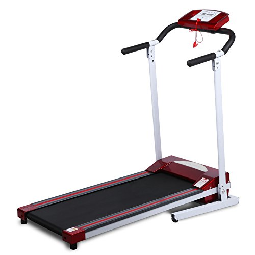 Gracelvoe Folding Treadmill Electric Exercise Running Machine with LED Monitor