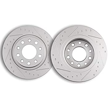 Front Rotors And Quiet Ceramic Pads For 2013 2014 2015 2016 DODGE DART