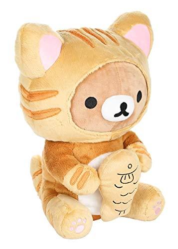 Rilakkuma Plush | Tiger Costume With Fish | San-X Plushy 2