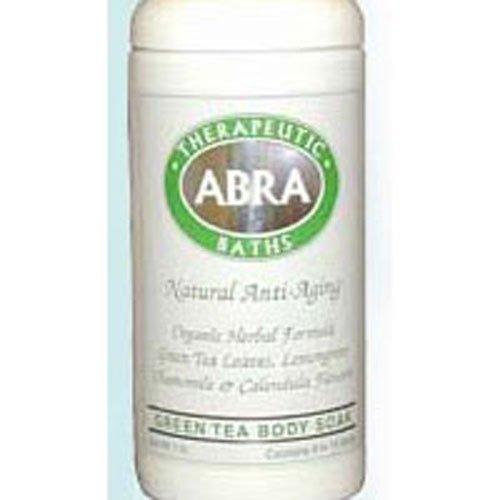 - Green Tea Tonic Bath, 17 oz by Abra Therapeutics (Pack of 3)