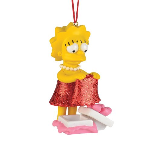 Department 56 The Simpson's Lisa's New Dress Ornament