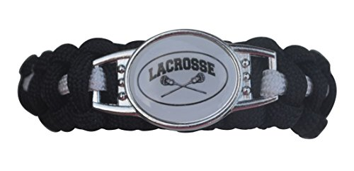Infinity Collection Lacrosse Paracord Bracelet, Boy and Girls Lacrosse Jewelry For Lacrosse Players by Infinity Collection