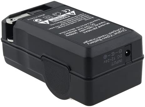 eForCity Sony NP-FH50 Premium Compatible Battery Charger Set for Sony HDR-CX100 Cybershot DSC-HX1 Digital Camera