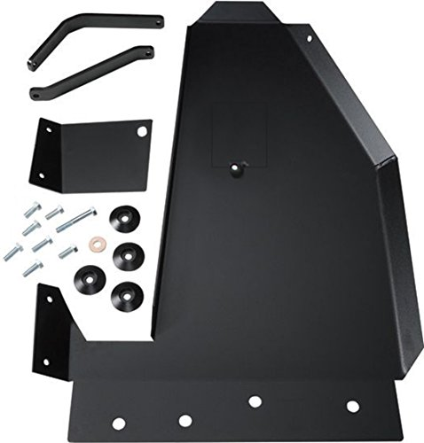 Rock Hard 4x4 Aluminum Oil Pan / Transmission Skid Plate - Short Arm/Factory Suspension for Jeep Wrangler JK 2/4DR 2007 - 2017 (Plate Jeep Skid Oil Jk Pan)