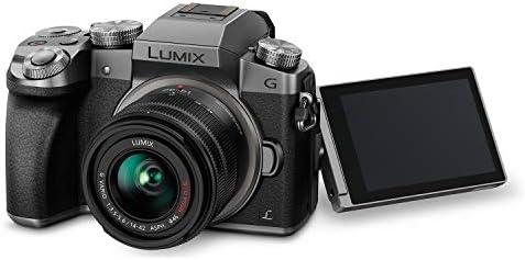 Panasonic Lumix G7KS 4K Mirrorless Camera, 16 Megapixel Digital Camera, 14-42 mm Lens Kit, DMC-G7KS 41usBAKbzVL