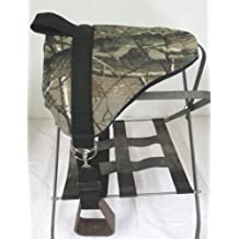 Miniature Horse / Small Pony Bareback Pad Saddle with Stirrups - Camo by Party Ponies