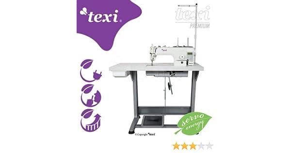 TEXI Máquina de Coser Industrial Tronic 6 con desbrozadora ...