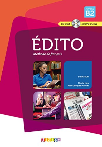 Reads Pdf Edito Niveau B2 3e Edition 2015 Livre Cd