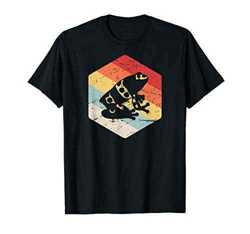 (Retro Pet Poison Dart Frog T-Shirt / Poison Arrow)