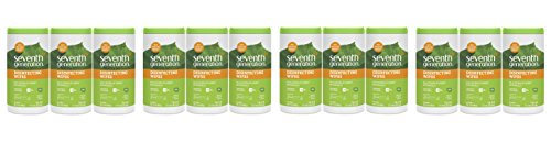 Seventh Generation Disinfecting Multi-Surface Wipes, 4Pack of 70 Count (Pack of 3) by Seventh Generation