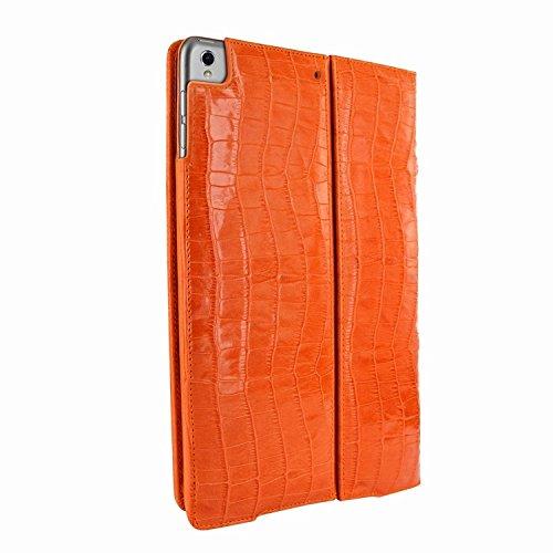 Piel Frama 786 Orange Crocodile Cinema Magnetic Leather Case for Apple iPad Pro 10.5'' by Piel Frama