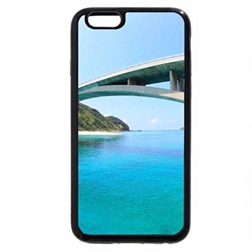 iPhone 6S / iPhone 6 Case (Black) Okinawa Bridge