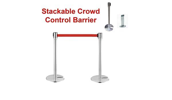 LAZ Stanchion Queue Rope Barrier Posts Stands Crowd Control