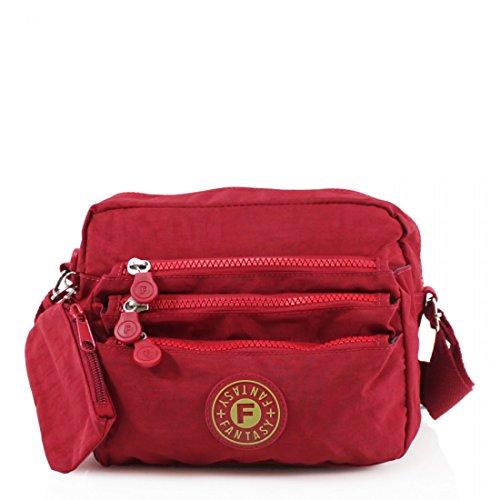 Craze Style1 London Beige Red Beige Pochette femme pour r6dYrxFq