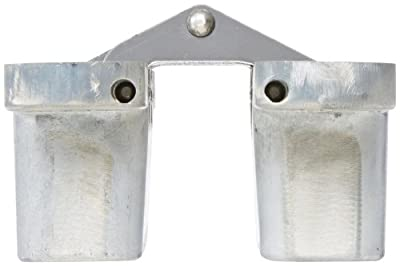 SOSS 220 Zinc Invisible Hinge with Holes for Wood or Metal Applications, Unplated