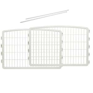 IRIS Plastic Pet Playpen/2-Panel Add-on for 4-Panel Pen