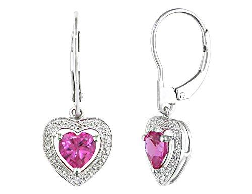 Gem Stone King 925 Sterling Silver Blue Sapphire Gemstone Birthstone Stud Women s Earrings 3.58 Cttw, 8X6MM Oval