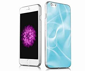 V.point [perfect fit] TPU Transparent Skin Scratch-Proof Case for iPhone 6p iPhone 6p/ 6s plus Combo Protective Cases, apple iphone 6p/6s plus case -blue and white pattern