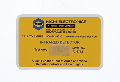 Infrared IR Remote Tester/Detector - Card