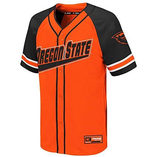 (Colosseum Youth Oregon State Beavers Wallis Baseball Jersey - M)