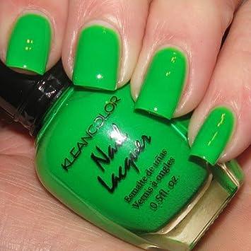 Amazon Kleancolor Neon Nail Lacquer 6 Colors Set Polish Beauty