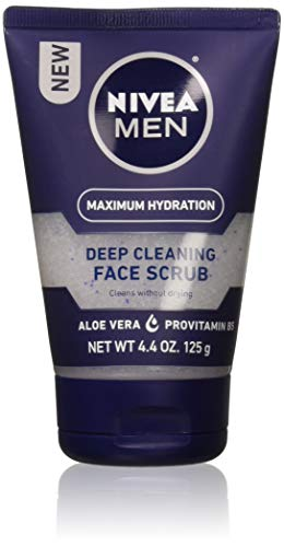 Deep Cleaning Face - NIVEA FOR MEN Original, Deep Cleaning Face Scrub 4.4 oz (Pack of 2)