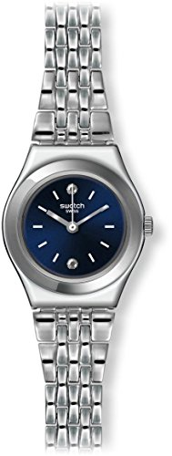 Swatch Women's Irony YSS288G Silver Stainless-Steel Swiss Quartz Watch with B...