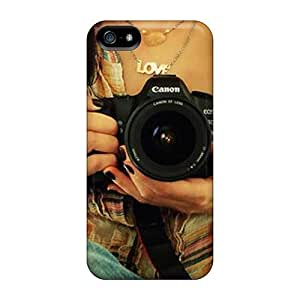 New Love Photography Cases Covers, Anti-scratch QDI37174VJuF Phone Cases For Iphone 5/5s