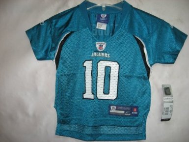 Reebok Teal Replica Football (Josh Scobee Jacksonville Jaguars Teal Equipment - Replica NFL Toddler Jersey (Toddler)