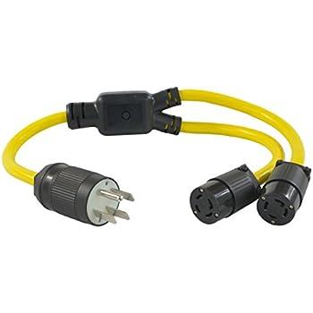 Amazon.com: Conntek YL1430520 30-Amp 125/250-volt L14-30P